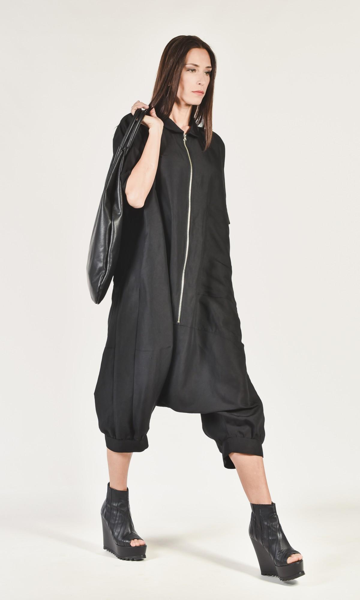 Loose Linen Maxi Jumpsuit A90042