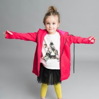 Cozy Long Hoodie for girls A90385C