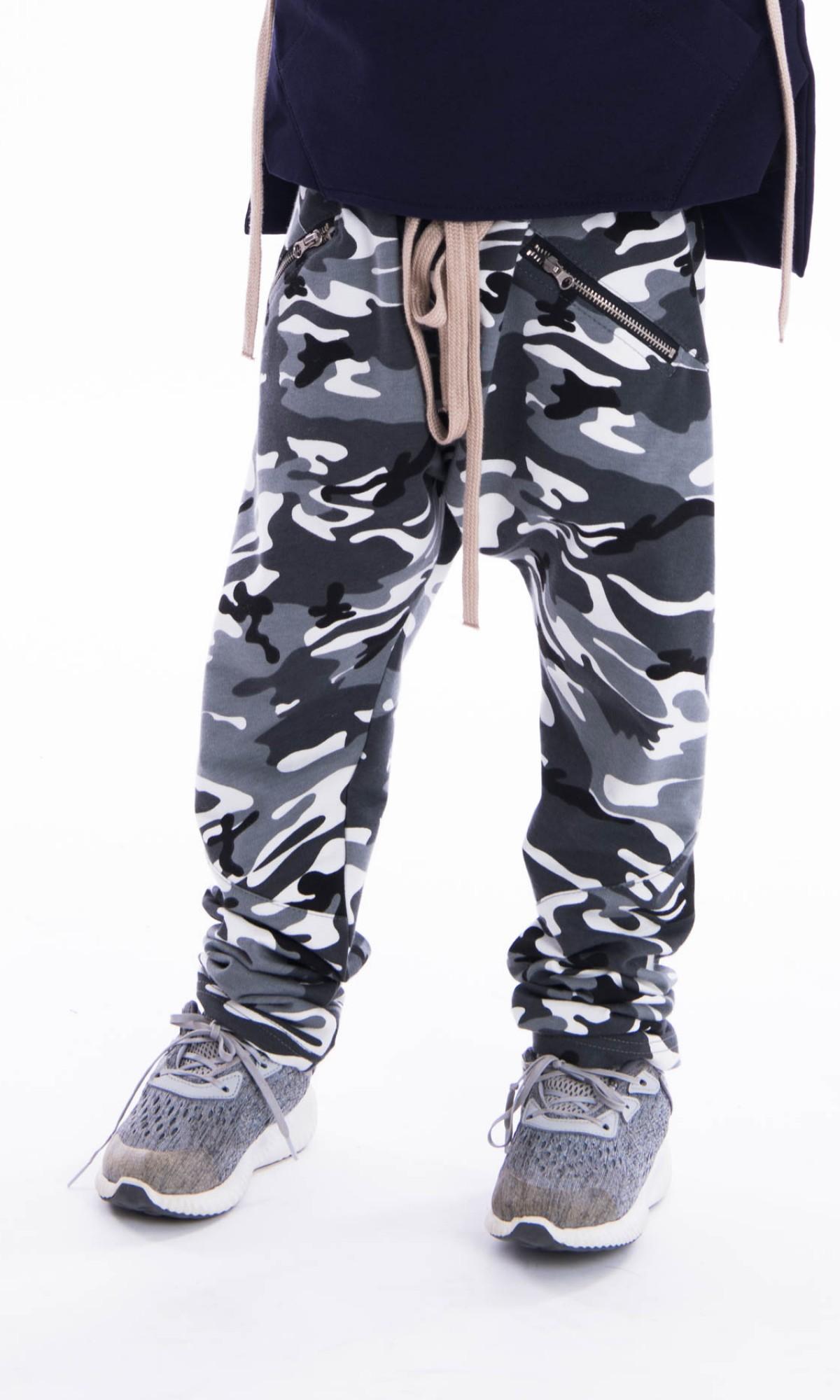 Long Drop Crotch Pants