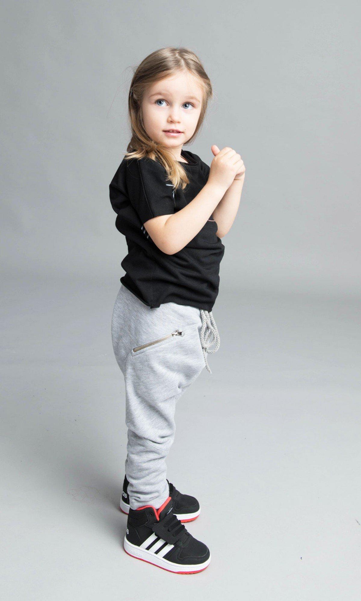Cute Loose Drop Crotch Pants A05313C