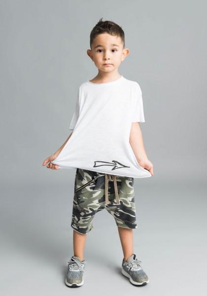 Cute drop crotch pants with zipper pockets A05567C