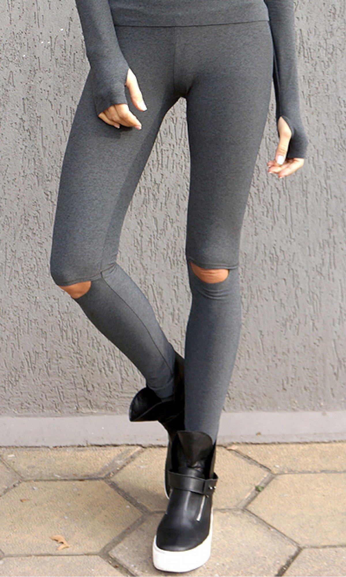 Open Knee Activewear Leggings
