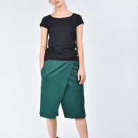 Loose Casual Drop Crotch Shorts A05134
