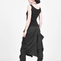 Extravagant Polyviscose Drop Crotch Pants A90482
