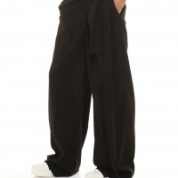 Pants - Loose Linen Wide Leg Pants A05034