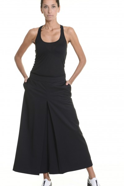 Cold Wool Wide Leg 7/8 Pants A05147
