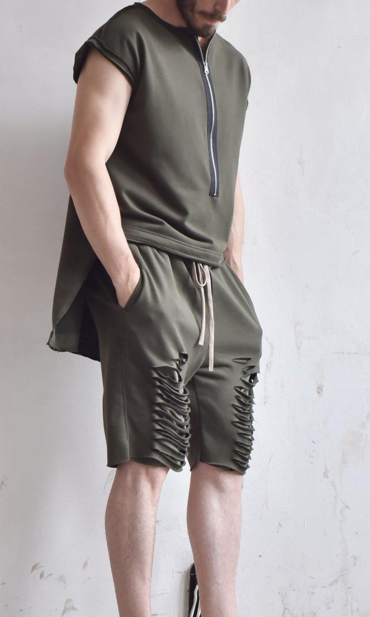 Casual Cotton Cuts Shorts