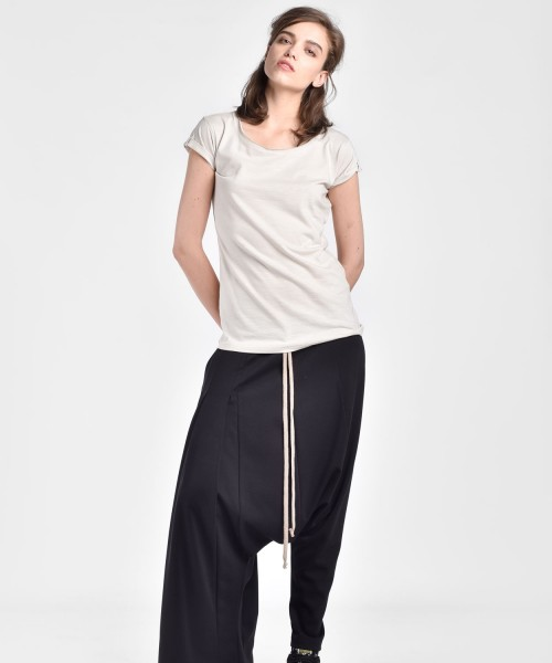 Wide Leg Straight Leg Pants A090083