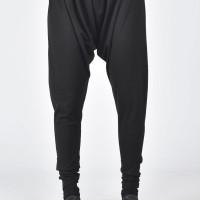 Loose Black Harem Pants A05070