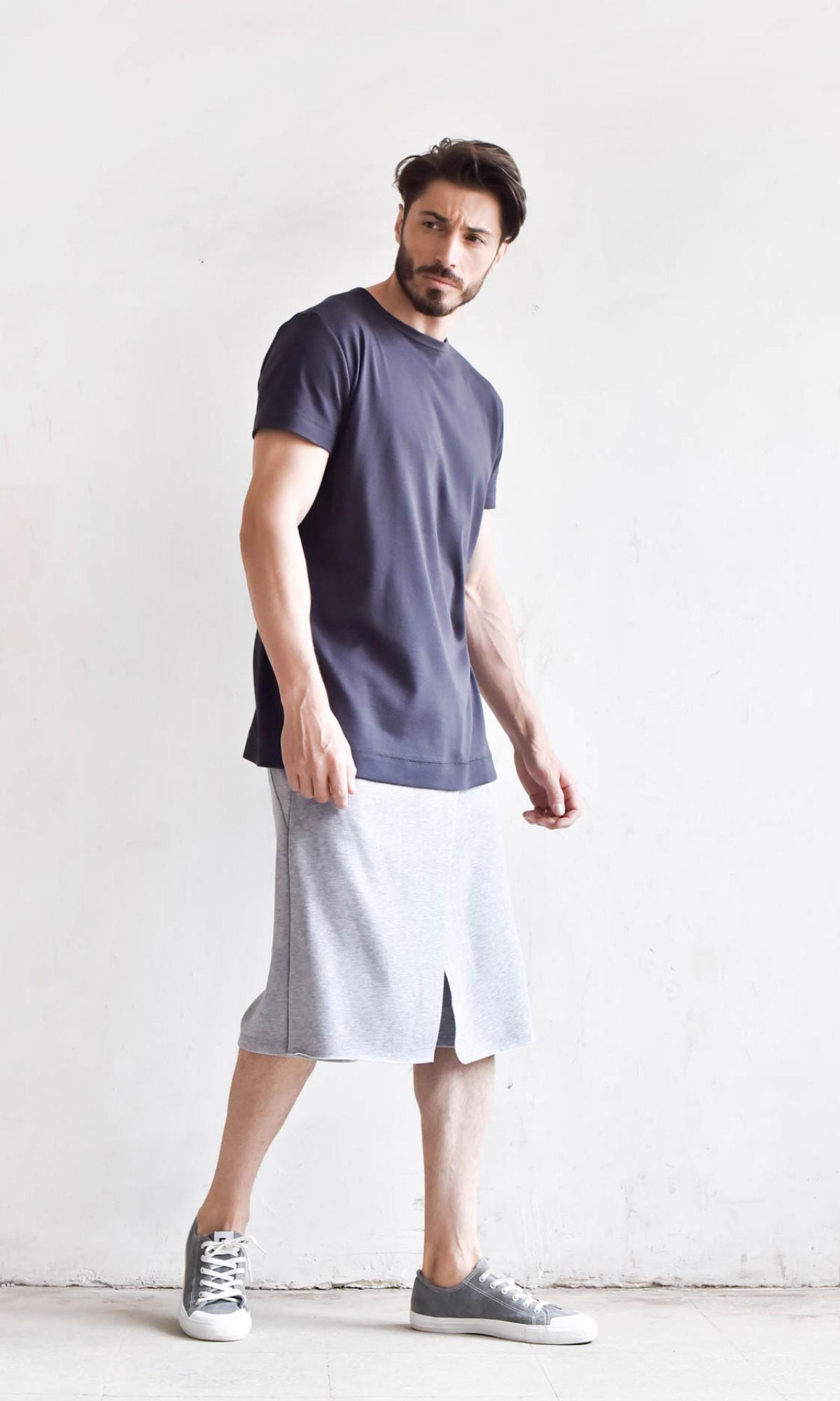 Loose Casual Drop Crotch Shorts A05134M