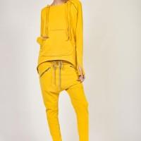Pants - Loose Drop Crotch Pants A05313