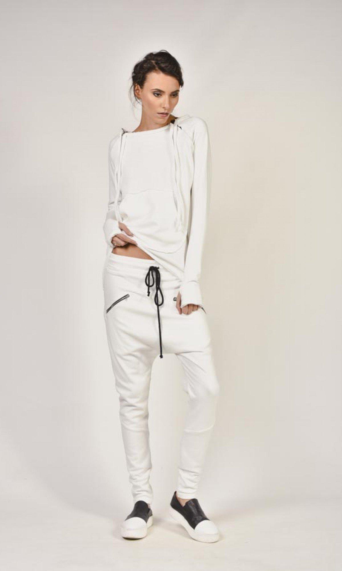 Loose Drop Crotch Pants A05313
