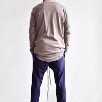 Loose Casual Drop Crotch Harem Pants A05540M