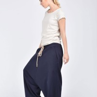 Deep Drop Crotch Pants A05527