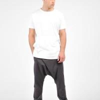 Loose Casual Drop Crotch Harem Pants A05568M