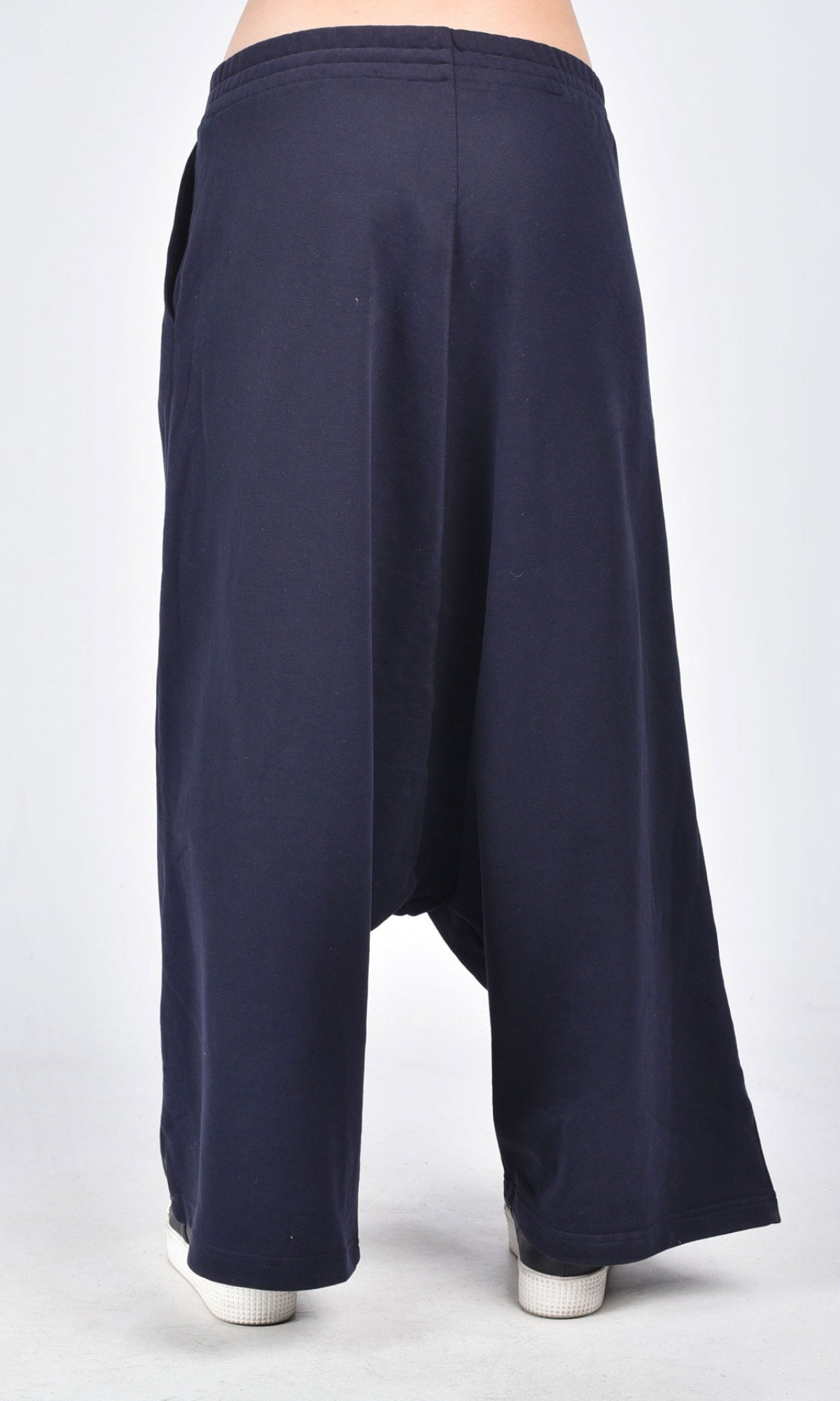 Deep Drop Crotch Cotton Pants A05608