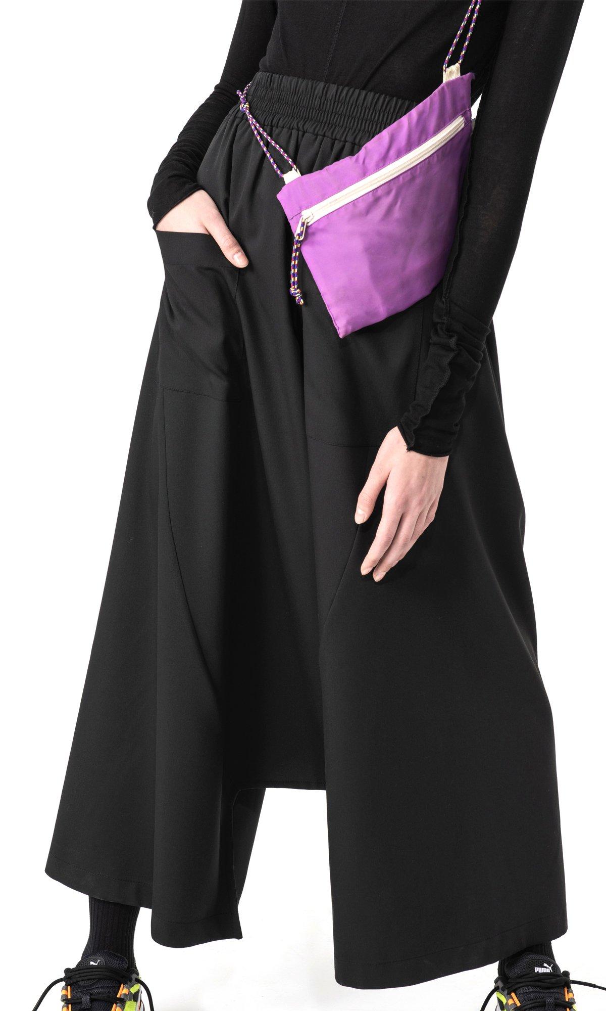 Elegant Deep Drop Crotch Pants