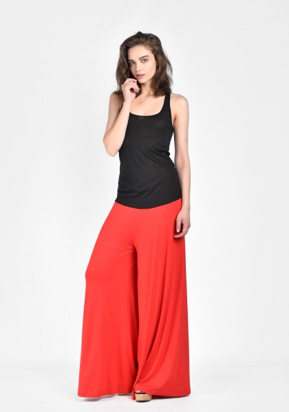 Wide Leg long pants A05671