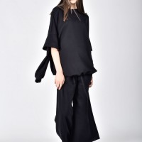 Soft Flared Sleeves Blouse A12766