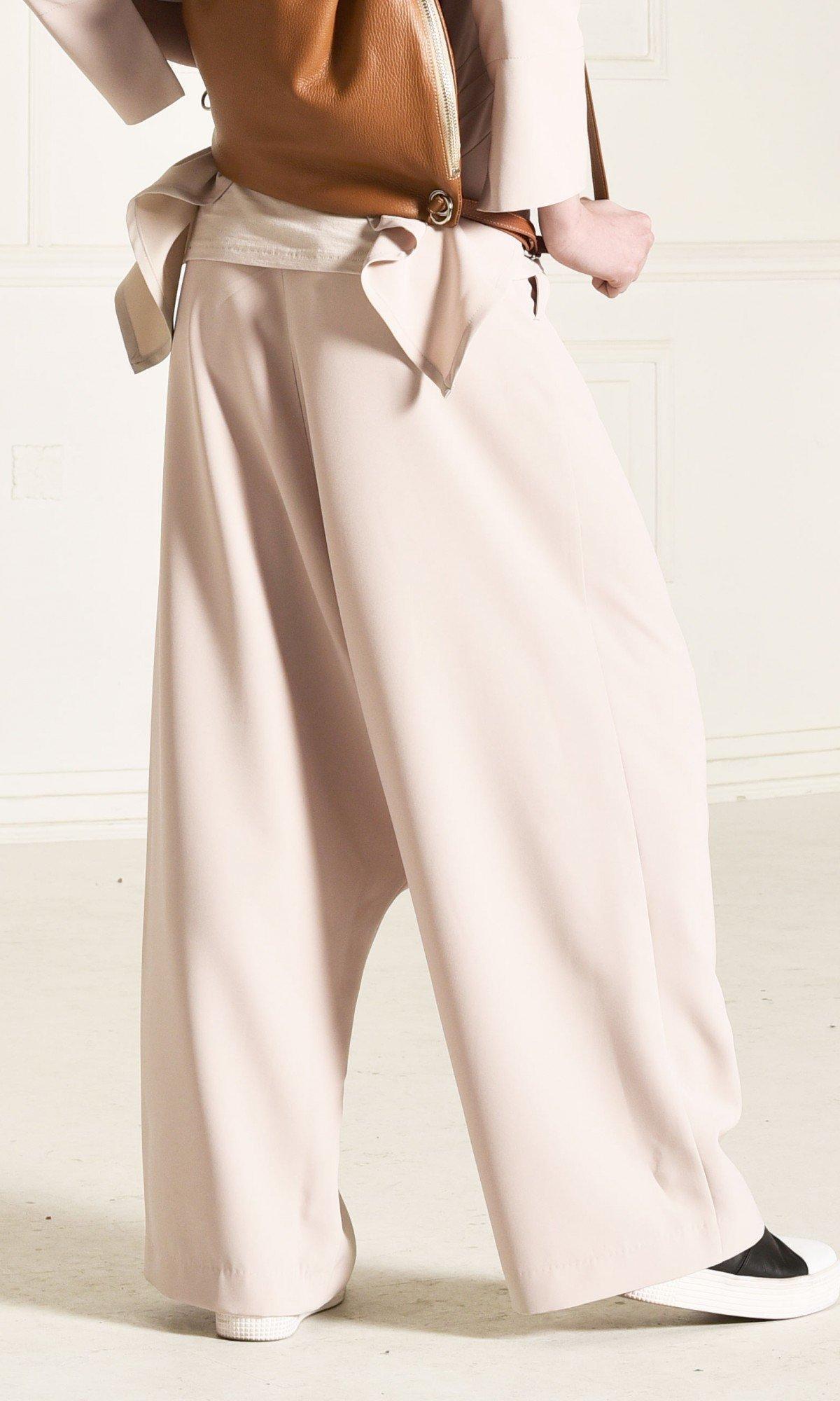 Deep Drop Crotch Polyviscose Pants A90221