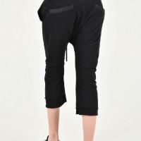 Sporty 7/8 drop crotch pants A90243