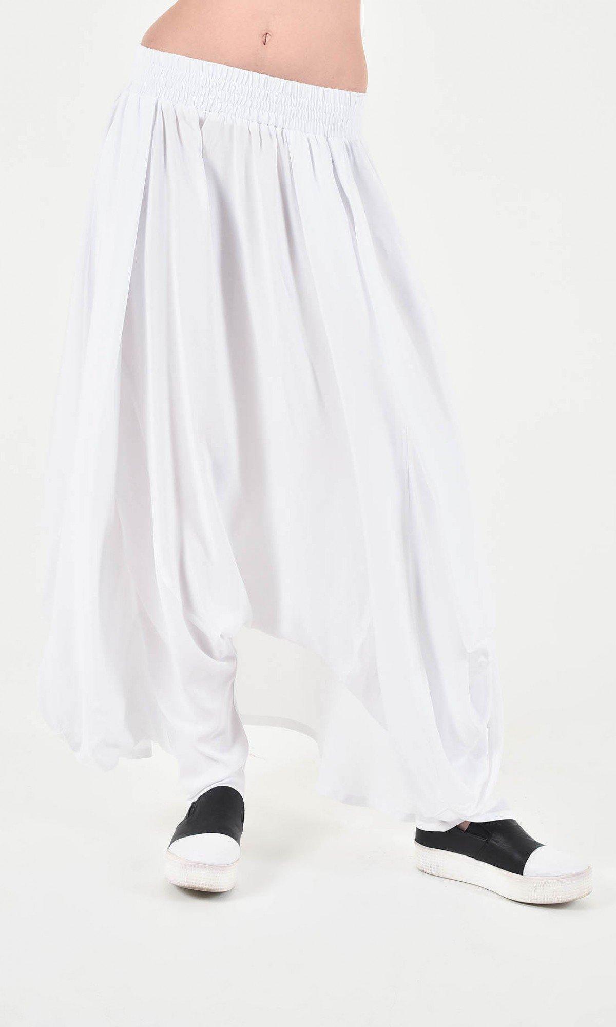 Elegant Wide Skirt - Pants A90248
