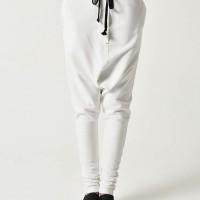 Drop Crotch Back Pockets Pants A90250