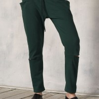 Drop Crotch Cut out Pants A90261