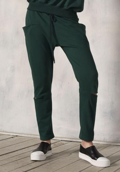 Drop Crotch Cut out Pants A90261