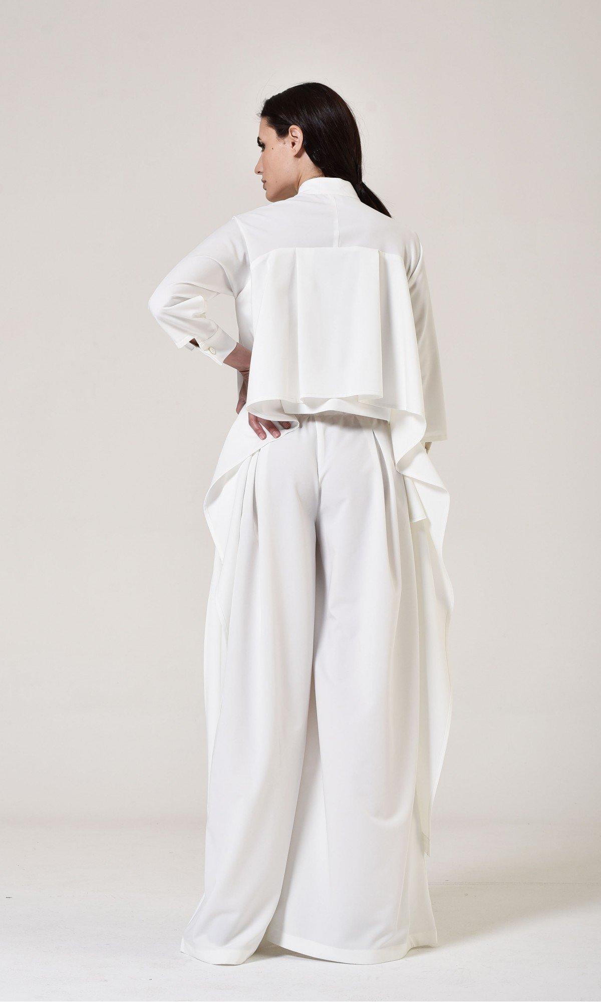 Stylish Wide Leg Skirt Pants A05045