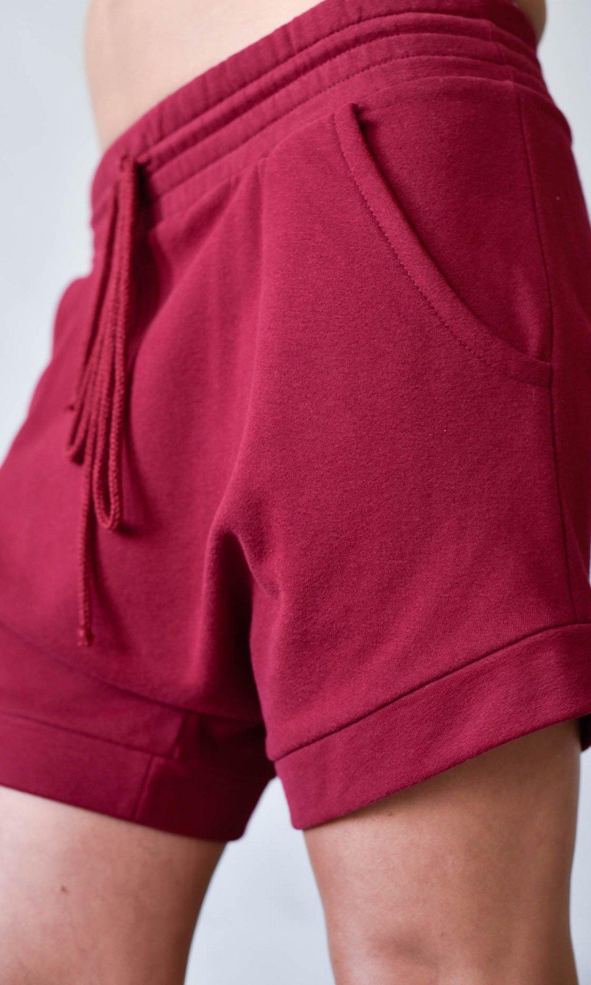 Cotton Drop Crotch Shorts A05738