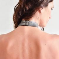 Trendy Geometric choker necklace A90327