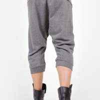 Drop Crotch Mid Calf Pants A90335M