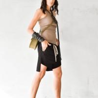 Aakasha New Loose fitting elegant cape shorts A90340