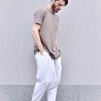 Elegant Linen Harem Pants A90383M