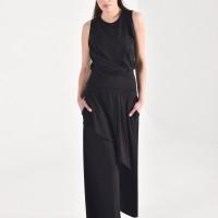 Stylish Wide Leg Asymmetric Pants A90462