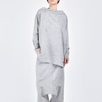 Asymmetric Loose Linen Shirt A11142