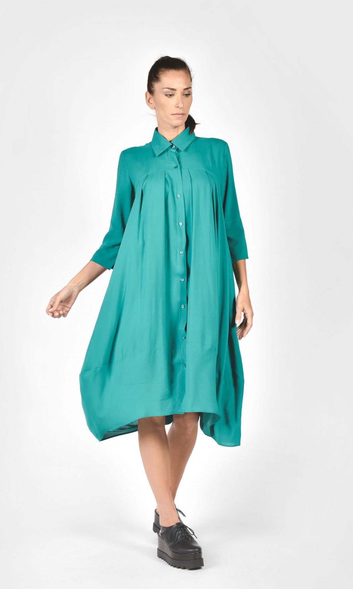 Sexy Maxi Shirt Dress A11164