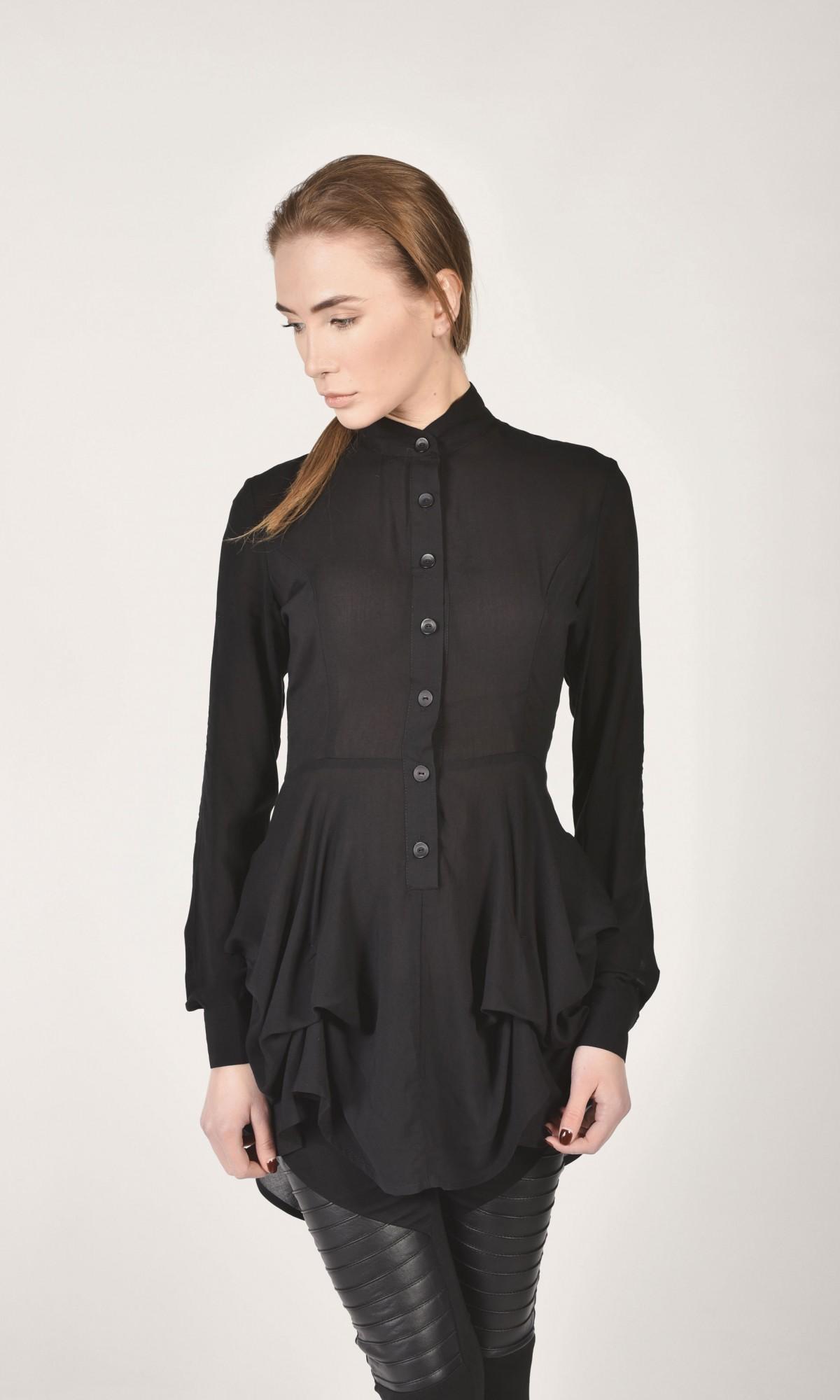 Loose Asymmetric Shirt A11199