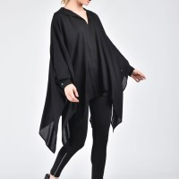 Extravagant Shirt with Wide Sleeves A11427