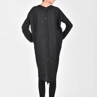 Black Extravagant Linen Shirt A11511
