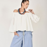 Naked Shoulders Gypsy Blouse A12447