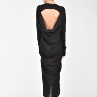 Extra Long Open Back Shirt A03093