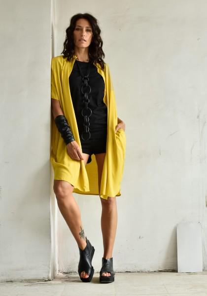 Long Elegant Middle Sleeve Shirt A90310
