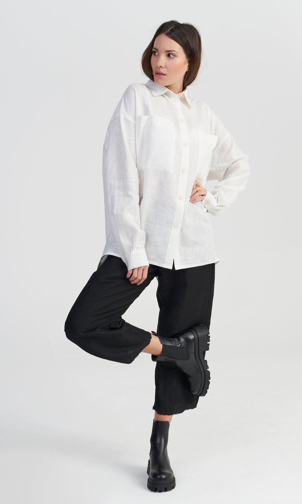 White Sparrow Linen Shirt