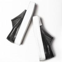 Footwear - Genuine Leather Sneakers A15204
