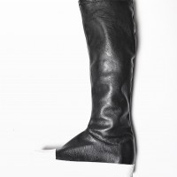 Genuine Leather High Elastic Boots A21490