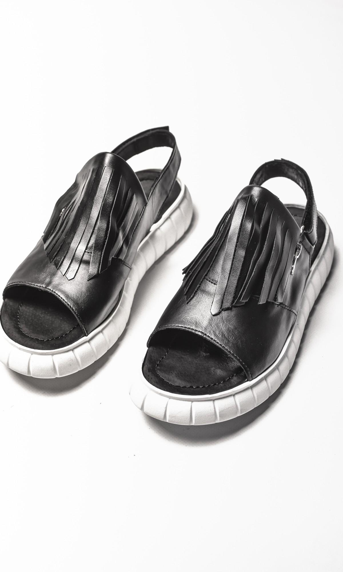 Flat Fringe Sandals A26428