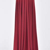 Rich Maxi Flared Skirt A09504