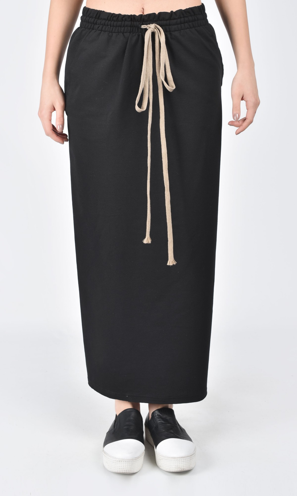 Skirts: Free Shipping on orders over $45 at getessay2016.tk - Your Online Skirts Store! Get 5% in rewards with Club O! Women's Patchwork Black And White Maxi Skirt - Elastic Waist - 36